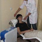 Оксигенотерапия в медицинском центре Атос