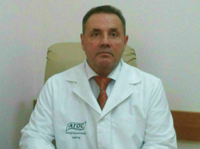 Невролог Дзюба Александр Николаевич