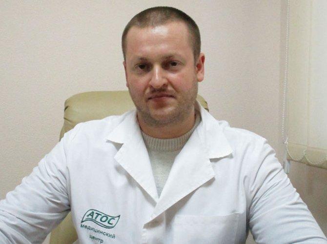 Врач-нарколог Поглод Андрей Васильевич