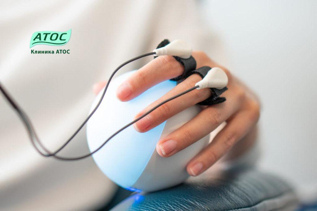 Лечение гипнозом с аппаратом БОС